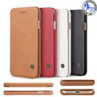 Luxury Genuine PU Leather Flip Case Wallet TO FIT IPHONE 5 6S 7 7+ Cover Quality