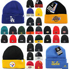 New Sport Embroidered Team Knit Beanie Cap Logo Apparel NFL NBA MLB NHL Winter $13.99 USD on eBay