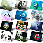 "Panda Painted Rubberized Hard Case Key Cover For Macbook Pro Air 11"" 12"" 13"" 15"""