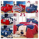 "New Kids""Mickey Mouse"" printed Bed Quilt Cover Cotton Set all size free shipping"