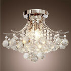 Modern Chrome Crystal Ceiling Lights Chandelier Bedroom Light Pendant Lamp 8363U