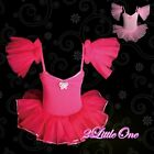 Girl Ballet Tutu Dance Child Costume Fairy Dress w/ Arm Mitts Size 2T-7 BA005