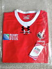 S M L XL XXL CANADA RWC 2015 JERSEY by UNDER ARMOUR Shirt RUGBY WORLD CUP TAGS