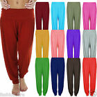 Womens Ladies Girls Ali Baba Harem Trousers In Different Colours Sizes UK 8-26