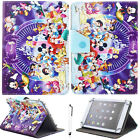 """For iPad 2 3 4/Air/Pro 9.7"""" Universal Cartoon Mickey PU Leather Stand Case Cover"""