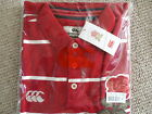 M or L ENGLAND RUGBY 1871 VINTAGE POLO SHIRT CHILLI Canterbury New Zealand