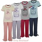"Ladies Womens Pyjama Set Perfume Bottle ""Cosy Couture"" Nightwear Pajama Suit Pjs"