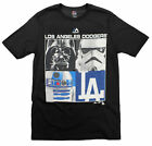 MLB Youth Los Angeles Dodgers Star Wars Main Character T-Shirt, Black