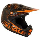 Kali Prana Carbon RIP Orange MX Off-Road Motorcycle Helmet