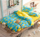 Banana  Single Double Super King Size Bed Pillowcase Quilt Duvet Cover Set