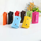 Fashion PU Leather Key Chain Accessory Pouch Bag Wallet Case Key Holder New