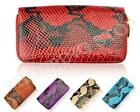 Fashion New Womens Patent Leather Designer Zip Wallet Ladies Coin Purse Card Hol