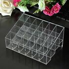 24 Trapezoid Makeup Display Lipstick Stand Case Cosmetic Organizer Holder 4Color
