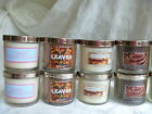 Bath & Body Works Slatkin Co. Scented Candle NEW Disc Choose Scent 4 oz X2