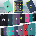 New 3 In 1 Shockproof Military Heavy Duty Case Cover For Ipad Mini/ Air/ Pro 9.7