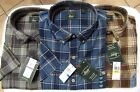 G.H. Bass Men's Short Sleeve Rock River Plaid Shirt Men's Sz M-XXL NWT MSRP$50