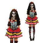 Rubies Women Day Of The Dead Senorita Muerta Skeleton Zombie Fancy Dress Costume