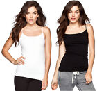 Seamless Comfort Camisole In and Out Layering Top Cami Tank Black White Beige