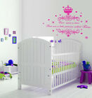 Personalised Once upon a Time Princess Name Art Wall Quote Sticker Decal Vinyl