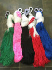 SOLID COLOR HANDWOVEN MEXICAN MAYAN HAMMOCKS SINGLE SIZE ASSORTED COLORS CAMPING