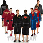 DC COMICS Batman v Superman Mens Ladies Adult Fleece Bathrobe Warm Robe Gown