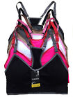 adjustable sports bra - 6 Sports Bras Racerback Adjustable Straps Assorted Free Size Lot
