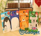 2 x Cute Animal Parent & Child Post It Notes Memo Sticker Pad Penguin Lion UK
