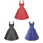 Ladies Women Speckle Casual Sleeveless Pattern Camisole Classic Dress