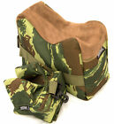 Nitehawk Rifle/Air Gun Front And Rear Rest Bench Bag Hunting Shooting