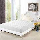 waterproof mattress protector - Mattress Cover Bed Topper  Bug Dust Mite Waterproof Pad Protector Quilted 5 Size