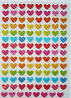 HEART STICKERS - 672 3D ARTS CRAFTS SCRAP BOOK CARD MAKING VALENTINES BOGOf