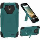 For Alcatel Onetouch ALLURA GoPhone / FIERCE 4 Hybrid stand  Case Rugged Cover