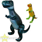 INFLATABLE 5FT 7IN DINOSAUR + 43CM DINO FANCY DRESS PARTY ACCESSORY DECORATION