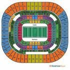 2Tix Carolina Panthers Pittsburgh Steelers Lower Level End Zone Front Row