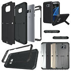For Samsung Galaxy S7 Edge G9350 Case Cover Full Armor Kickstand Luxury Tank New