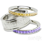 LSU Tigers Stackable Rings Stainless Steel