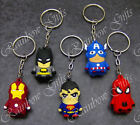 SUPERHERO KEY RING 3D SUPERHERO KEYRINGS NOVELTY KEYCHAINS
