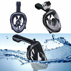 Swimming Full Face Mask Surface Diving Snorkel Scuba for GoPro Swim S /M  L /XL