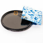 Hama 52mm ND2-ND400 ND Variable Neutral Density Lens Filter & Water Cloth