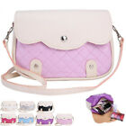 Women Lady PU Leather Handbag Satchel Crossbody Tote Shoulder Bag Messenger TB