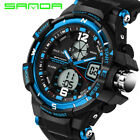 Fashion Men Digital Sports Army Military Quartz Wrist Watch WATERPROOF Dual Time <br/> Sent from UK, Dispatched Same Day, Brand New.1700+ SOLD