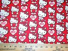 HELLO KITTY #9  FABRICS Sold INDIVIDUALLY NOT AS A GROUP By the HALF YARD