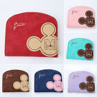 New Women Mikey Mouse Wallet Stylish Card Holders Handbag Short PU Leather Purse