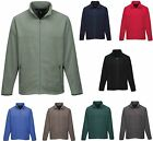 MEN'S MICRO FLEECE, FULL ZIP UP, MIDWEIGHT, JACKET, POCKETS, S M L XL 2X 3X 4X