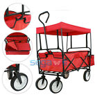 Heavy Duty Garden Dump Cart /hand Truck Dolly/wagon Wheelbarrow Moving Luggage
