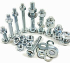 M3 & M3.5 ZINC MACHINE POZI PAN HEAD SCREWS  BOLTS WITH FULL NUTS & THICK WASHER