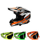 Jopa Motocross Helm Combo LOCUST II SCRUM 2016 sliced orange MX-Bude MX-2 Brille