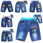 New Cartoon Characters Girls Boys Jean Short size2.3.4.5.6.7 Spiderman/planet