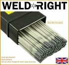 Weldright General Purpose E6013 Arc Welding Electrodes Rods 1.6-5.0mm 5-100 Rods