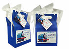 Personalised Thomas the Tank Engine Birthday Party Favour Sweets Lunch Gift Box